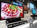 Sharp запустила в продажу 108-дюймовый телевизор